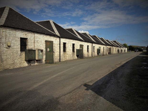 Port Ellen's warehouses are now used to mature whisky from its neighbouring distilleries.