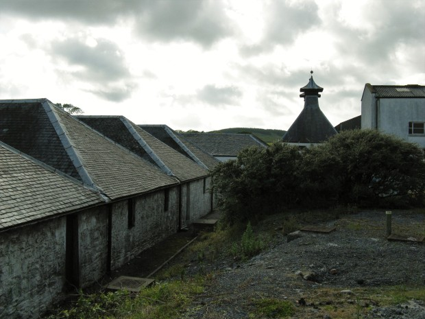 The distillery buildings now lie abandoned.