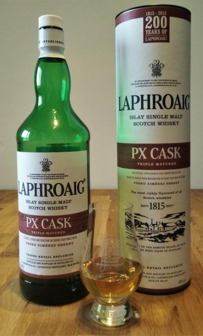 Laphroaig PX Cask Review