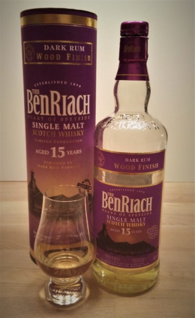 BenRiach Dark Rum Wood Finish Review