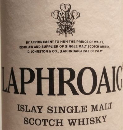 Laphroaig Royal Warrant