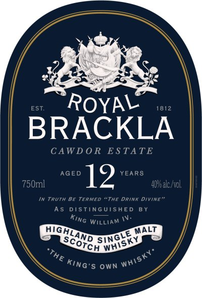 Royal Brackla Label