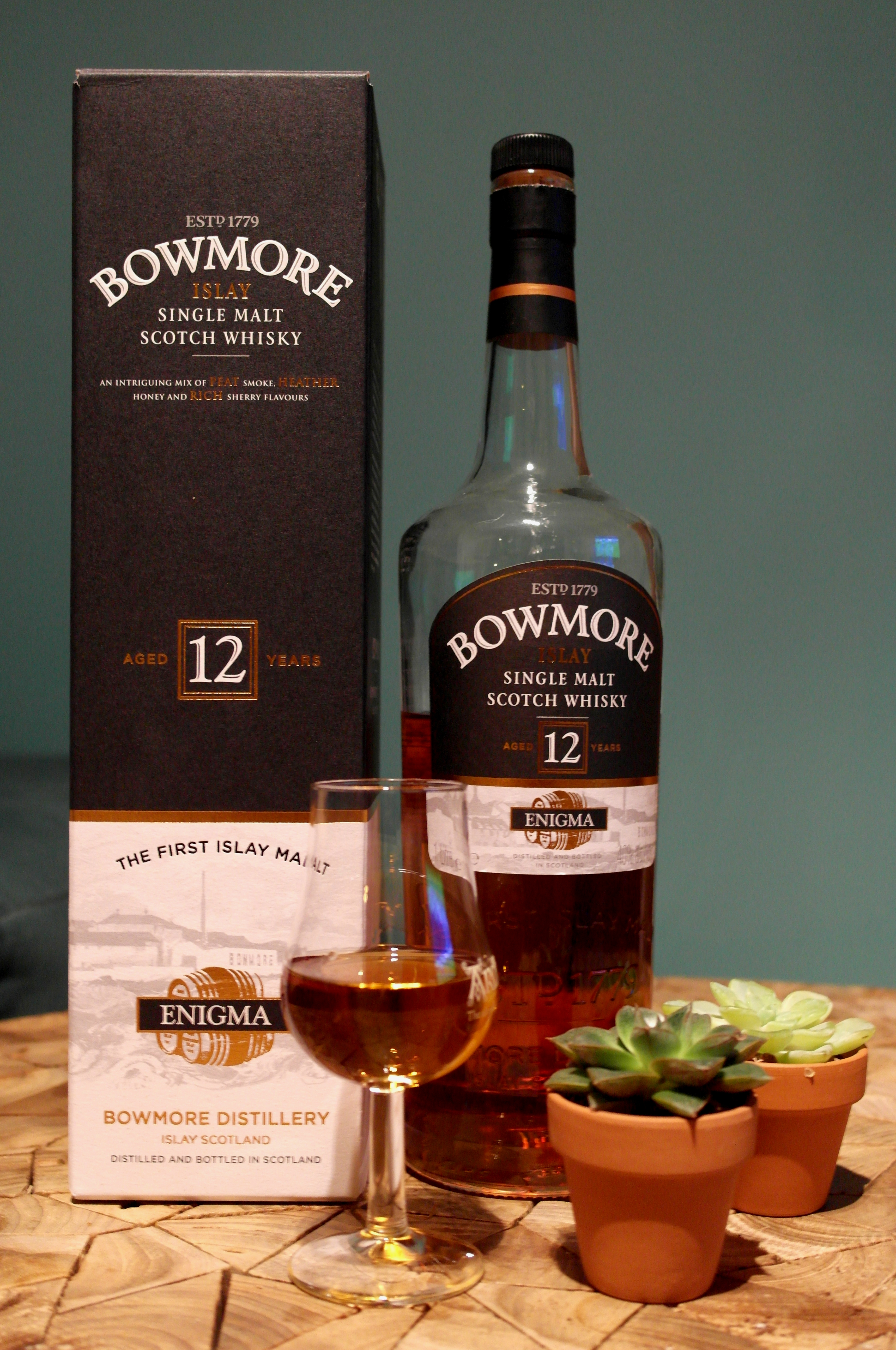 Bowmore 12 year old Enigma 01