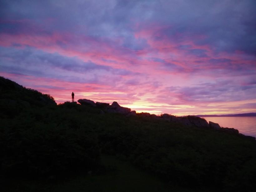 Arran Whisky Walk 01 - Sunset