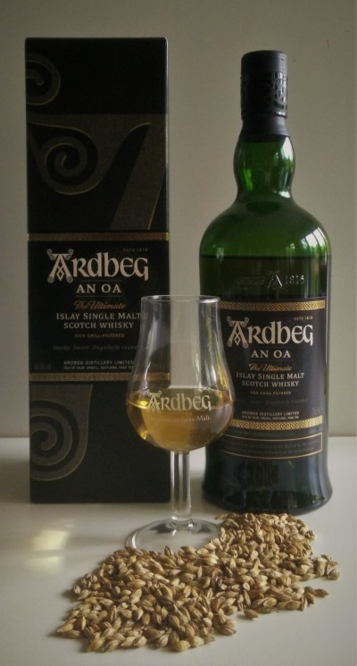 Ardbeg An Oa whisky review 01