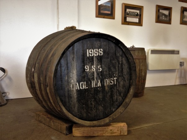 A single cask release at the tasting room inside Caol Ila distillery