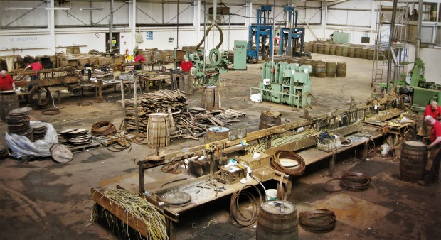 Staves and hoops galore at the Speyside Cooperage