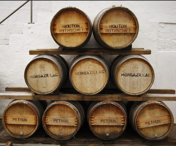 Ex-wine casks being used at Bruichladdich distillery for finishing Octomore 02.2 Orpheus