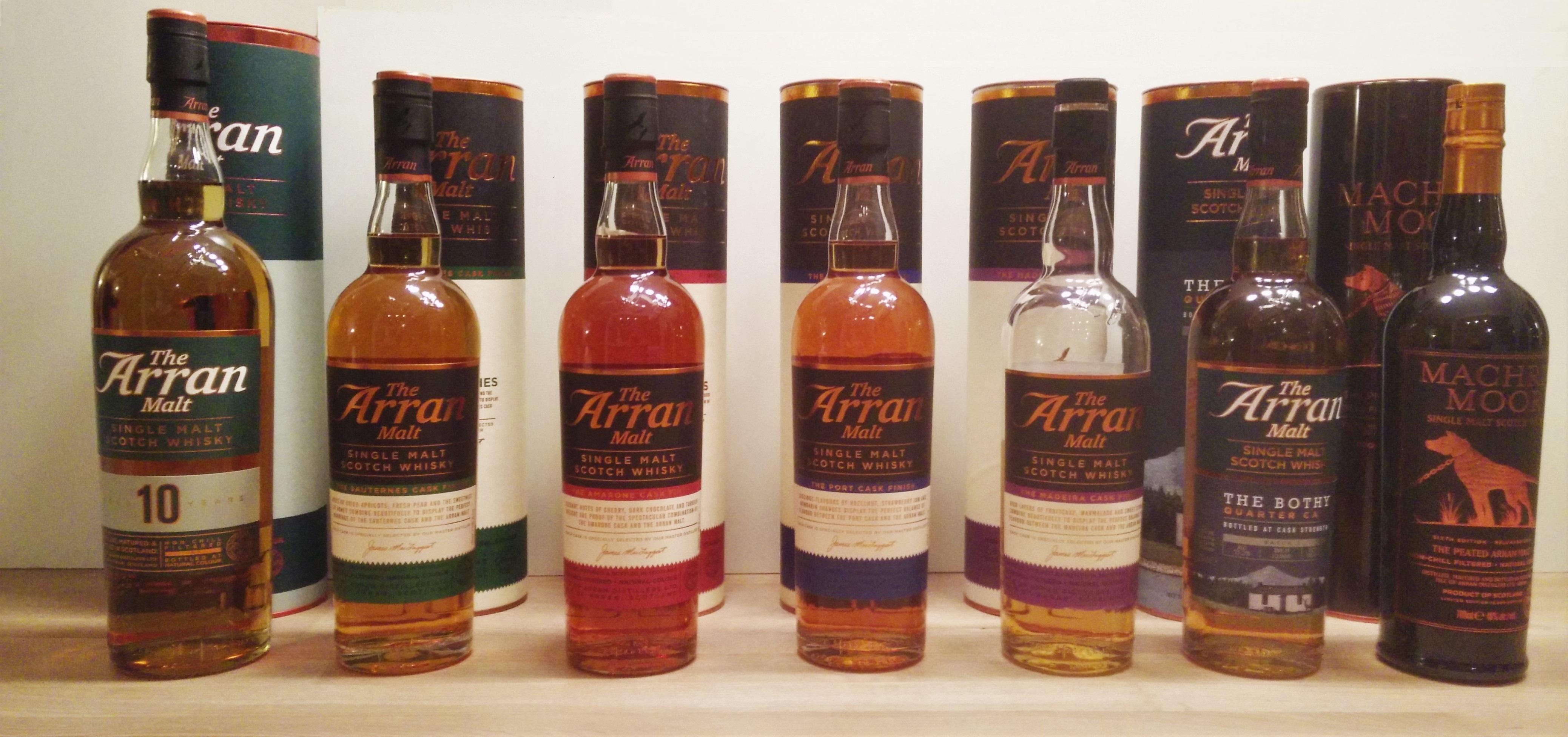 Isle of Arran Whisky Tasting