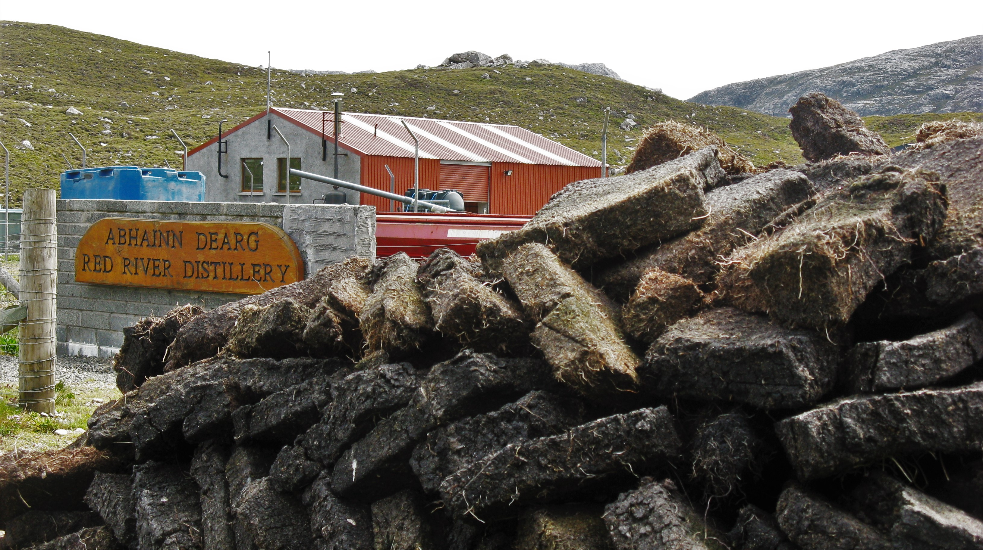 Abhainn Dearg distillery on the Isle of Lewis