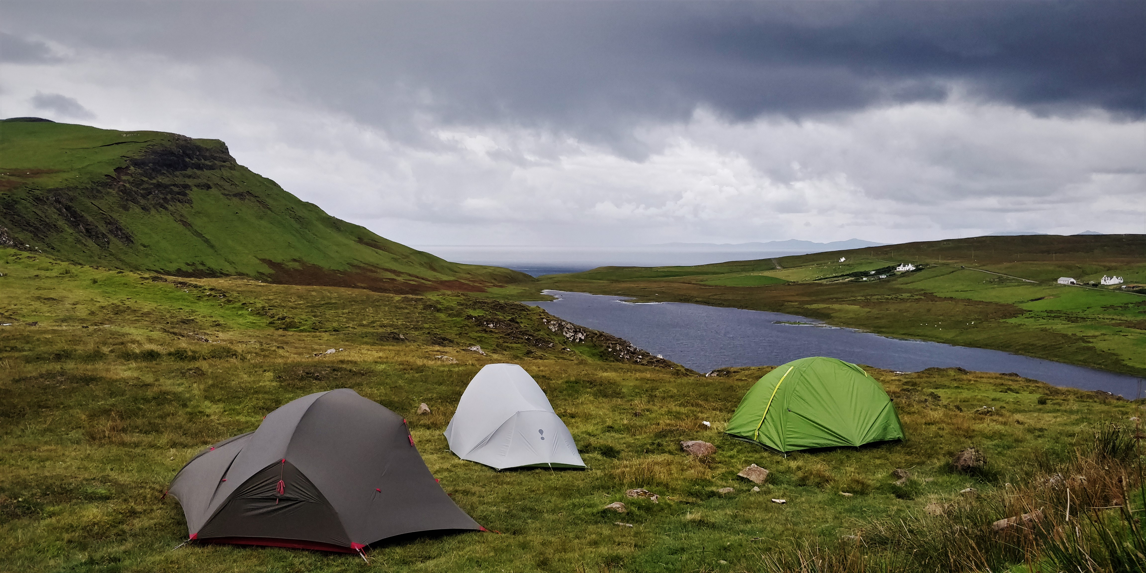 Wild Camping Skye