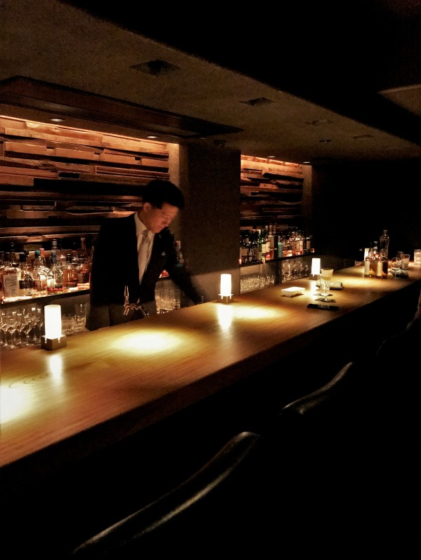 Bar Kage in Tokyo's Ginza district