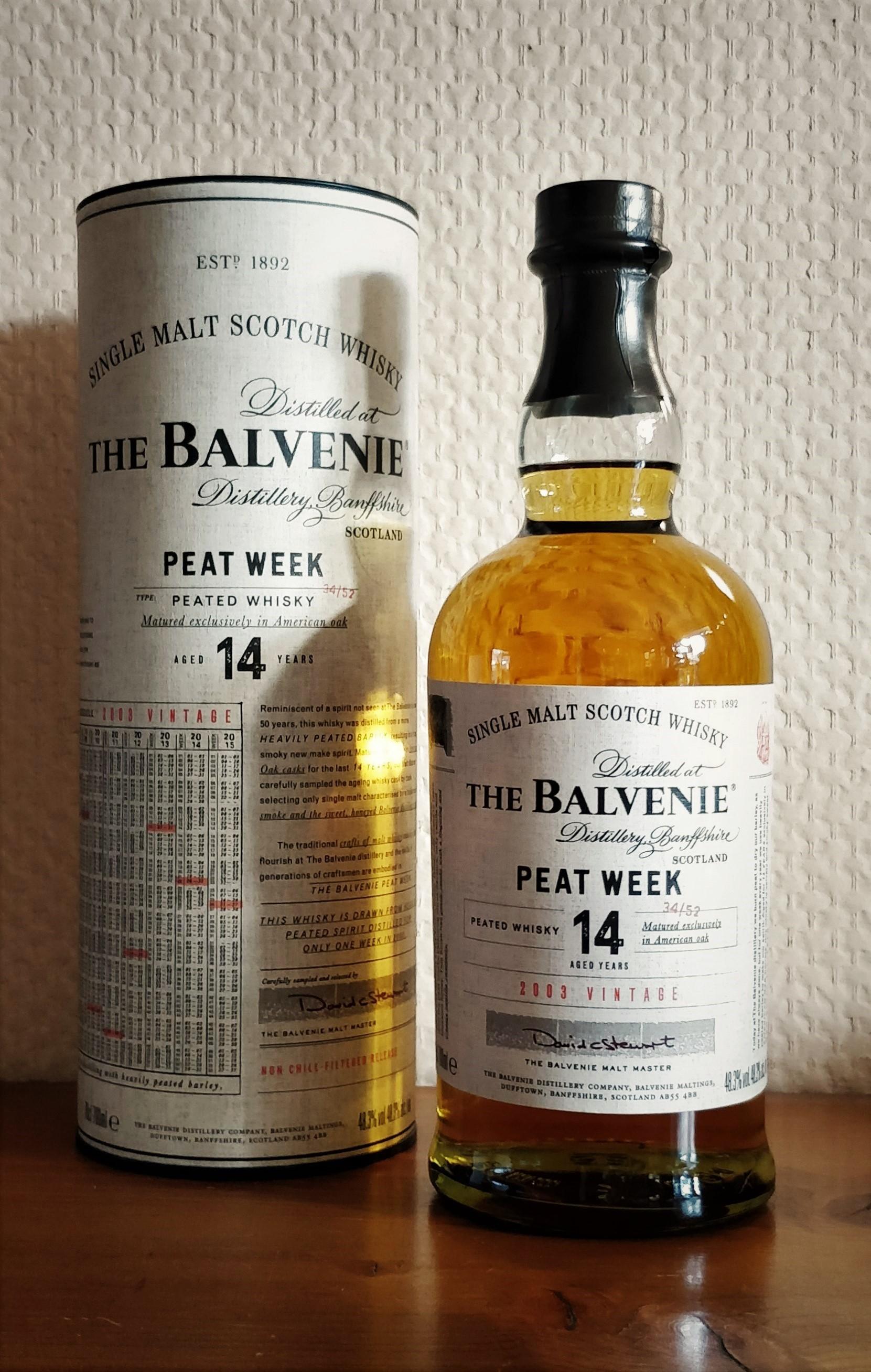 Balvenie Peat Week 02